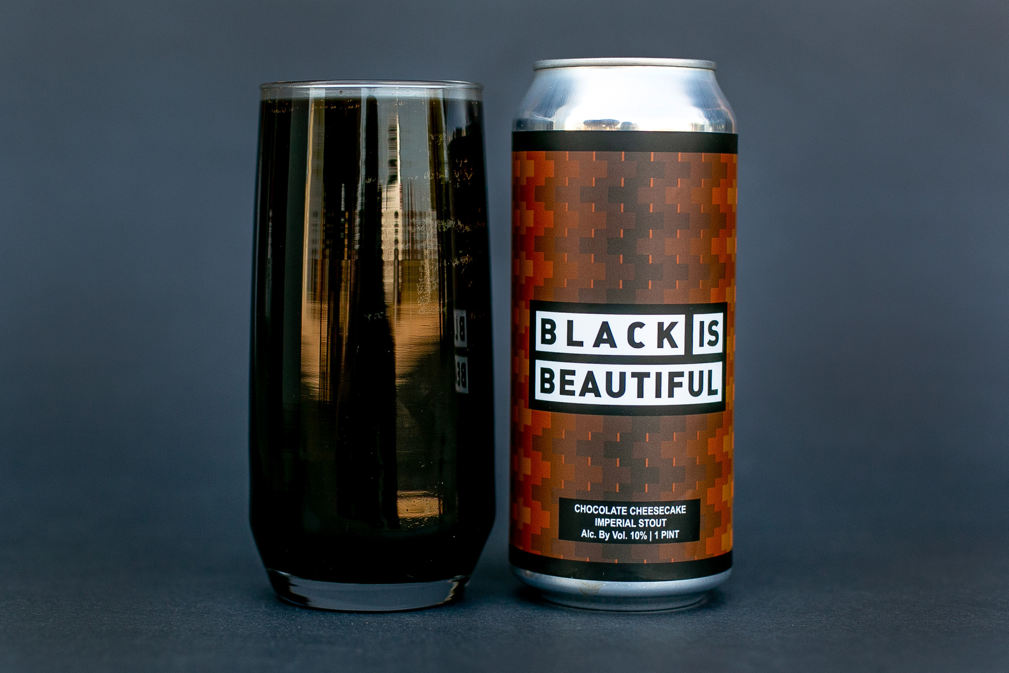(405) Black Is Beautiful beer Label Full Size