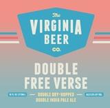 Virginia Beer Co. Double Free Verse beer