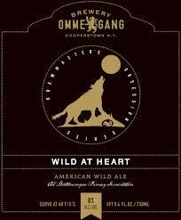 Ommegang Wild at Heart beer Label Full Size