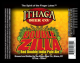 Ithaca Double Zilla Imperial Red beer