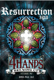 4 Hands Resurrection IPA Beer