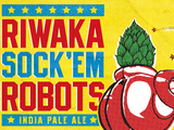 Counter Weight Brewing Riwaka Sock'em Robots beer