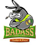 Badass Hard Pear Cider Quite A Pear beer