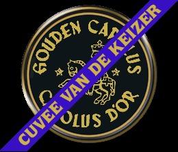 Gouden Carolus Cuvee Van De Keizer Blauw beer Label Full Size
