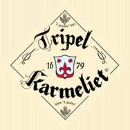 Bosteels Tripel Karmeleit beer Label Full Size