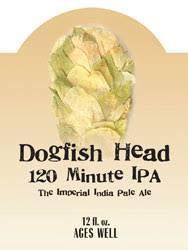 Dogfish Head 120 Minute 2013 beer Label Full Size