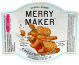 Sam Adams Merry Maker beer