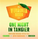 Virginia Beer Co. One Night In Tangier beer