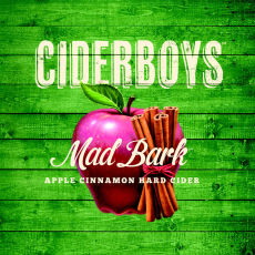 Cider Boys Mad Bark Cinnamon Cider beer Label Full Size