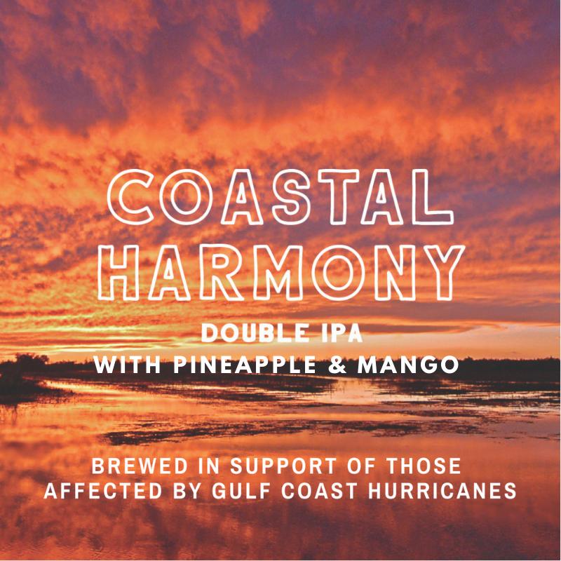 Chafunkta Coastal Harmony beer Label Full Size