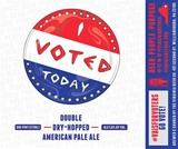 Virginia Beer Co. I VOTED TODAY beer