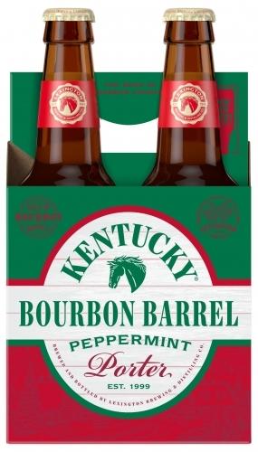 Lexington Kentucky Bourbon Barrel Peppermint Porter beer Label Full Size