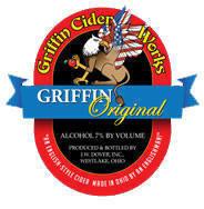 Griffin Original Cider beer Label Full Size