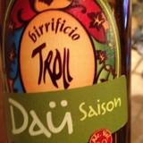Troll Saison Dau beer