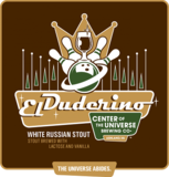 Center of the Universe El Duderino White Russian Stout Beer
