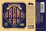 Great Divide Peach Grand Cru Beer
