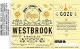 Westbrook Gozu beer