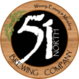 51 North Paint Creek Wheat beer