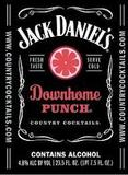 Jack Daniels Downhome Punch Beer