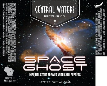 Central Waters Space Ghost Beer