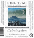 Long Trail Culmination beer