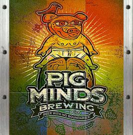Pig Minds Southy Bitch Slap beer Label Full Size