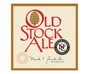 North Coast Old Stock Cellar Reserve Brandy Barrel beer Label Full Size