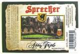 Sprecher Abbey Triple beer