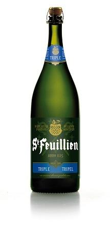 St Feuillien Tripel 3L beer Label Full Size