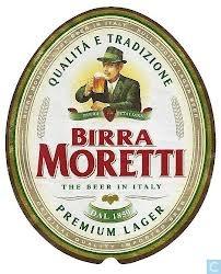 Birra Moretti Premium Lager beer Label Full Size