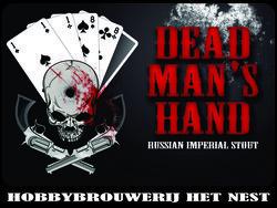 Het Nest Dead Man's Hand Wine Barrel beer Label Full Size