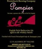 Pennichuck Pompier Barleywine (oak aged) beer