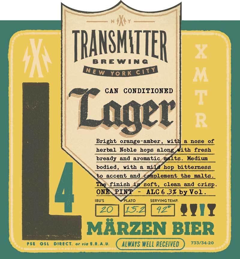 Transmitter L4 Marzen beer Label Full Size