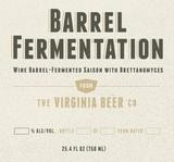 Virginia Beer Co. Saison Tournante - Barrel Fermentation IV beer
