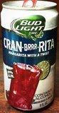 Bud Light Lime Cran-Brrr-Rita Beer