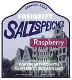 Freigeist Salzspeicher Raspberry Sauer Porter beer