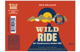 New Belgium 30th Anniversary Wild Ride beer