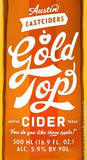 Austin Eastciders Gold Top Beer