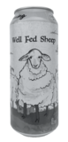 Off Color Well Fed Sheep beer