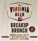 Virginia Beer Co. Breakup Brunch beer