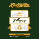 Kills Boro - Killsner beer
