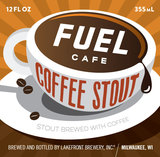 Lakefront Fuel Cafe Coffee Stout Beer