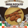 Eight & Sand Irish Potato Stout beer Label Full Size