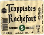Rochefort 8 beer Label Full Size