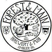 Forest and Main Tiny Tim beer Label Full Size