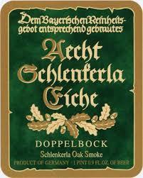 Aecht Schlenkerla Rauchbier Doppelbock beer Label Full Size