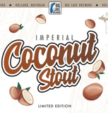 Big Lake Imperial Coconut Stout beer