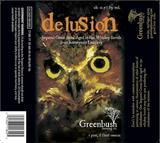 Greenbush Delusion beer
