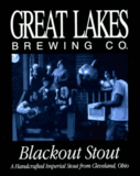 Great Lakes Blackout Stout beer