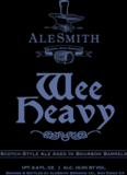 AleSmith Wee Heavy with Bourbon beer
